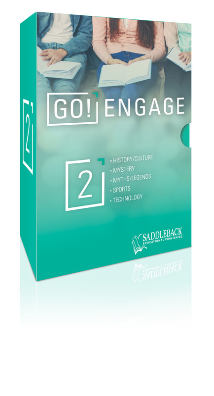 Tween Emergent Reader Libraries Additional Boxed Set - GO! Engage  (1 each of 20 titles)