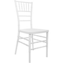 Advantage White Resin Chiavari Chair [RSCHI-W]