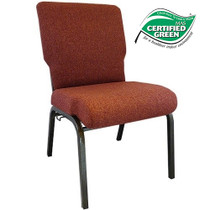 Advantage Cinnamon Church Chair 20.5 in. Wide [PCHT-107]