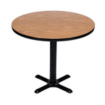 Correll BXT30R 30-in Round Café Table