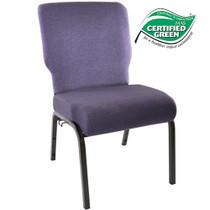 Advantage Royal Purple Church Chair 20.5 in. Wide [PCHT-110]