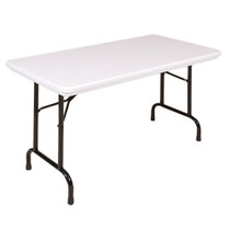 Correll R2448 4-ft Long Plastic Folding Table