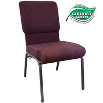 Advantage Grape / Amethyst Church Chairs 18.5 in. Wide [PCHT185-103]