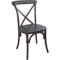 Advantage Walnut X-Back Chair [X-back-W-EC]