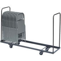 Correll Vertical Storage Folding Chair Cart [C1996]