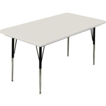 Correll 8 ft. Rectangular Activity Table - Blow-molded Plastic [AR3096-REC]