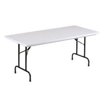 Correll R3072 6-ft Long Plastic Folding Table