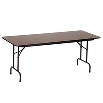 Correll PC3072P 6-ft Wood Heavy-duty Folding Table
