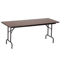 Correll PC2496P 8-ft Wood Heavy-duty Folding Table