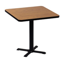 Correll BXT24S 24-in Square Café Table