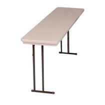 Correll R1872 6-ft Plastic Folding Seminar Table