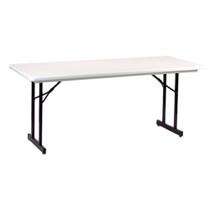 Correll R3072TL 6-ft Plastic Folding Seminar Table