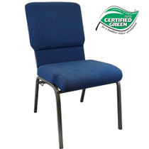 Advantage Navy Church Chairs 18.5 in. Wide [PCHT185-101]