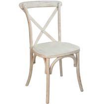 Advantage Lime Wash X-Back Chair [X-back-LW-EC]