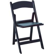 Advantage Mahogany Resin Folding Chairs [RFWCA-102]