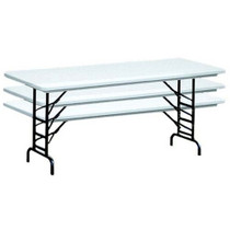 Correll RA3096 8 ft. Correll Adjustable Height Folding Tables