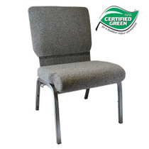 Advantage Charcoal Gray Church Chair 20.5 in. Wide [PCHT-111]
