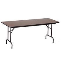 Correll PC2472P 6-ft Wood Heavy-duty Folding Table