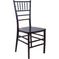 Advantage Mahogany Monoblock Resin Chiavari Chair [RSCHI-MONO-M]