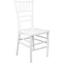 Advantage White Monoblock Resin Chiavari Chair [RSCHI-MONO-W]