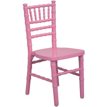 Advantage Kids Pink Wood Chiavari Chair [KID-WDCHI-Pink]