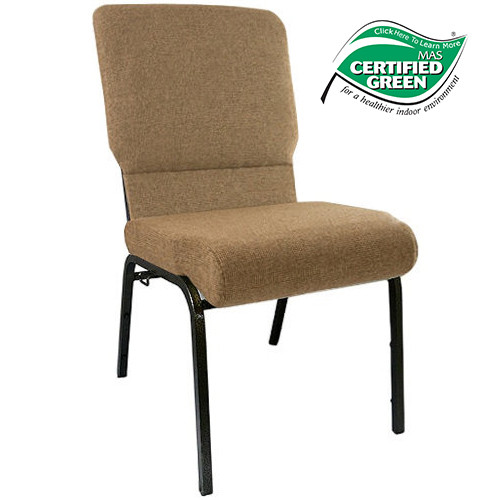 Ordinaire Advantage Mixed Tan Church Chairs 18.5 In. Wide [PCHT185 105]