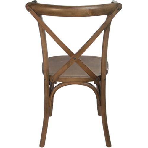 Advantage Light Brown X Back Chair [X Back LB EC]