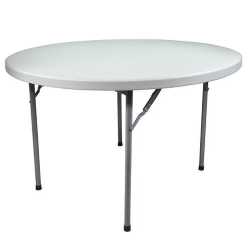 Round Plastic Folding Table [FTD72R 15]