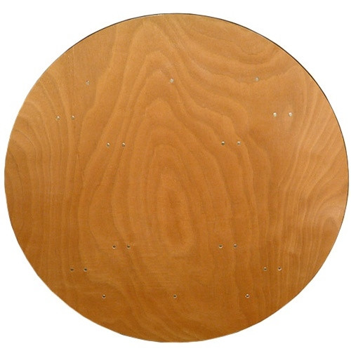 Round Wood Folding Banquet Table [FTPW 60R