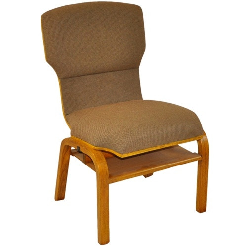 Amazing Advantage Custom Church Chairs With Solid Wood Back And Frame [WPCHT 200WB]