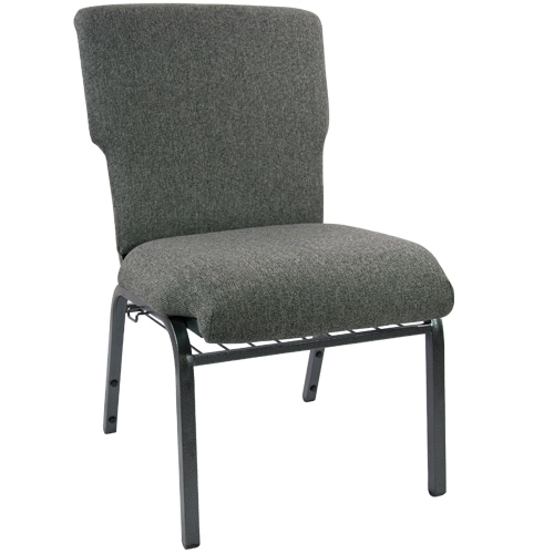 Attirant Advantage Charcoal Gray Discount Church Chair   21 In. Wide [EPCHT 111]