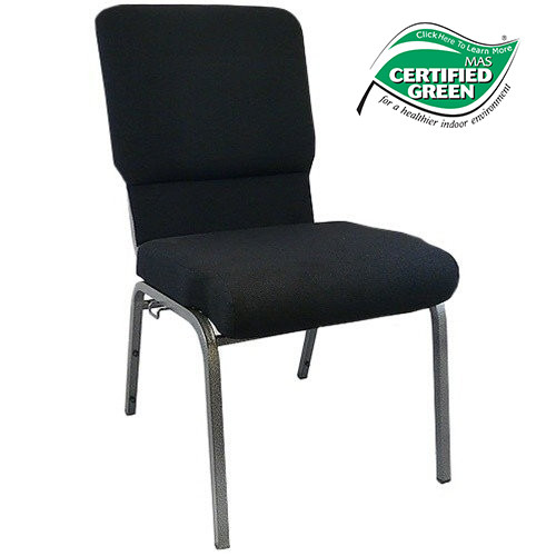 Elegant Advantage Black Church Chairs 18.5 In. Wide [PCHT185 108]