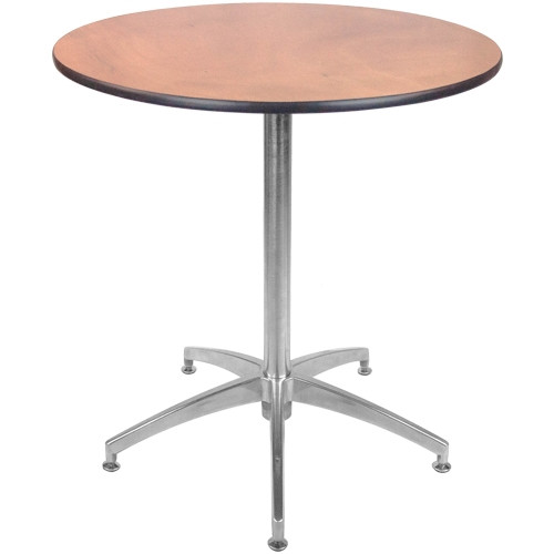 Advantage Inch Round Café Table CAFETRND Round Wooden Cafe - 30 inch round outdoor table