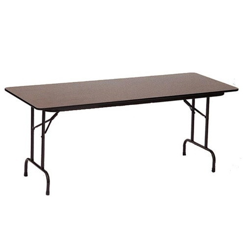 correll pc3096p 8-ft wood heavy-duty folding tables for sale at