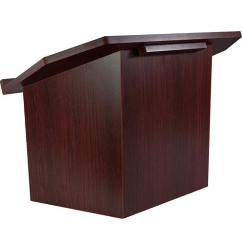 Advantage Mahogany Folding Wood Lectern Tt Lectern