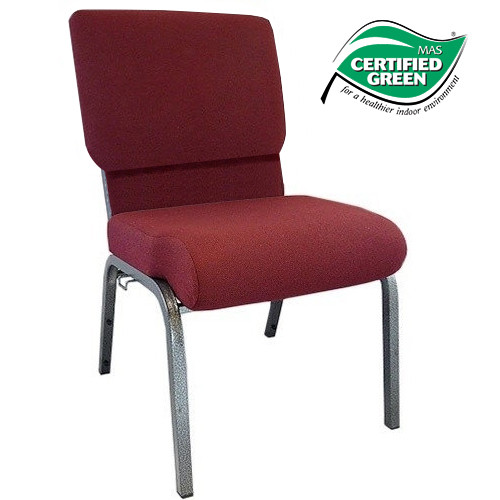 Advantage Maroon Church Chair 20.5 in. Wide [PCHT-104]
