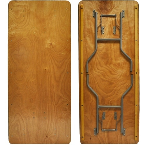 5 Pack Advantage 6 39 Wood Folding Banquet Tables Ftpw3072