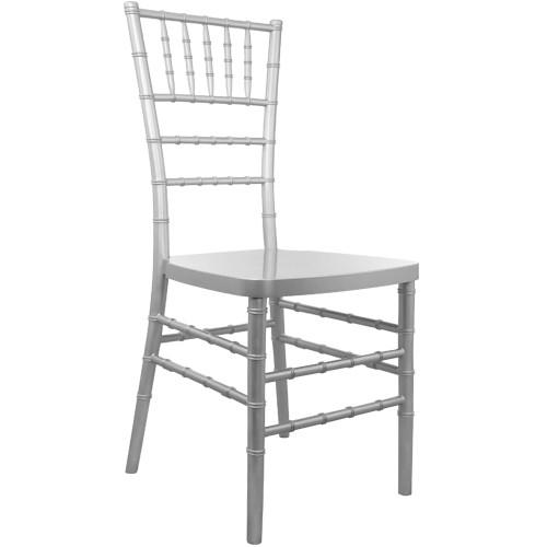 Advantage Silver Resin Chiavari Chair [RSCHI-S]