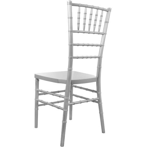 silver chiavari chair. Advantage Silver Resin Chiavari Chair [RSCHI-S] Y