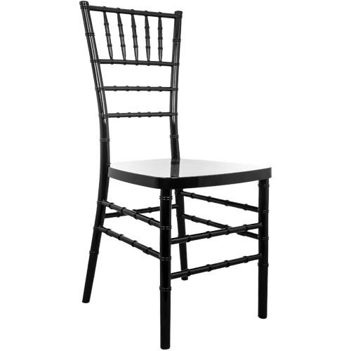 Advantage Black Resin Chiavari Chair [RSCHI-B]