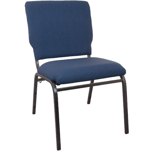 Advantage Navy Multipurpose Church Chairs - 18.5 in. Wide [SEPCHT185-101]