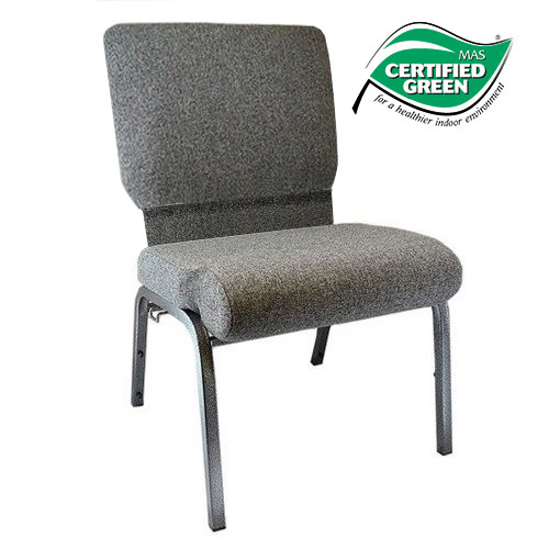 Exceptionnel Advantage Charcoal Gray Church Chair 20.5 In. Wide [PCHT 111]