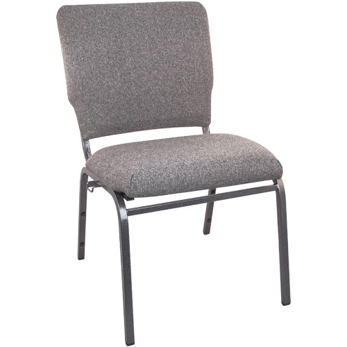 Advantage Charcoal Gray Multipurpose Church Chairs - 18.5 in. Wide [SEPCHT185-111]