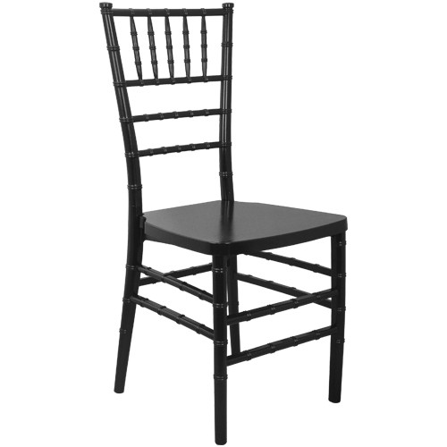 Advantage Black Monoblock Resin Chiavari Chair [RSCHI-MONO-B]