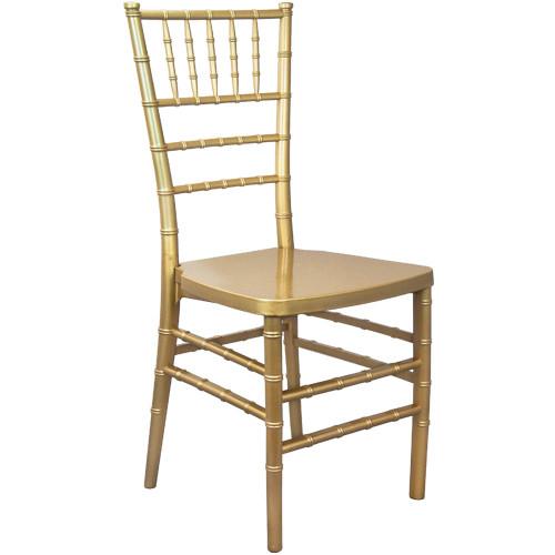 Advantage Gold Monoblock Resin Chiavari Chair [RSCHI-MONO-G]