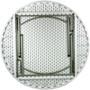 Advantage 5 ft. Round White Plastic Folding Table [ADV60R-WHITE] - White Granite
