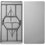 Advantage 5 ft. Rectangular White Plastic Folding Table [ADV3060-WHITE]