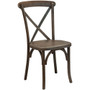 Advantage Dark Driftwood X-Back Chair [X-back-BURDRIFT-EC]