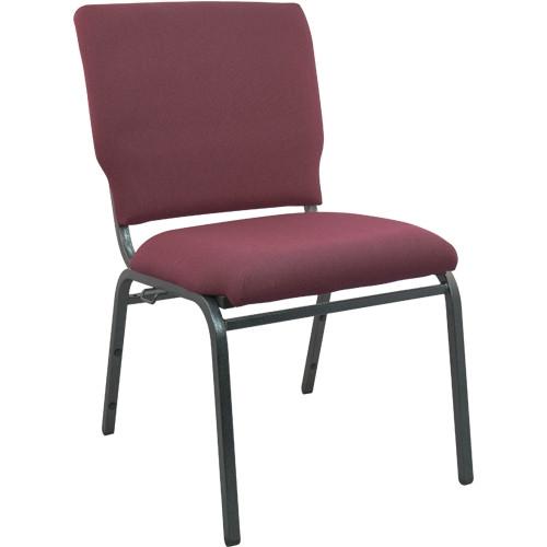 Advantage 18 5 Inch Maroon Multipurpose Church Chair