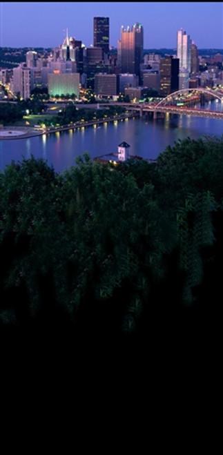 city skyline and water 3d backdrop owen s originals backdrops